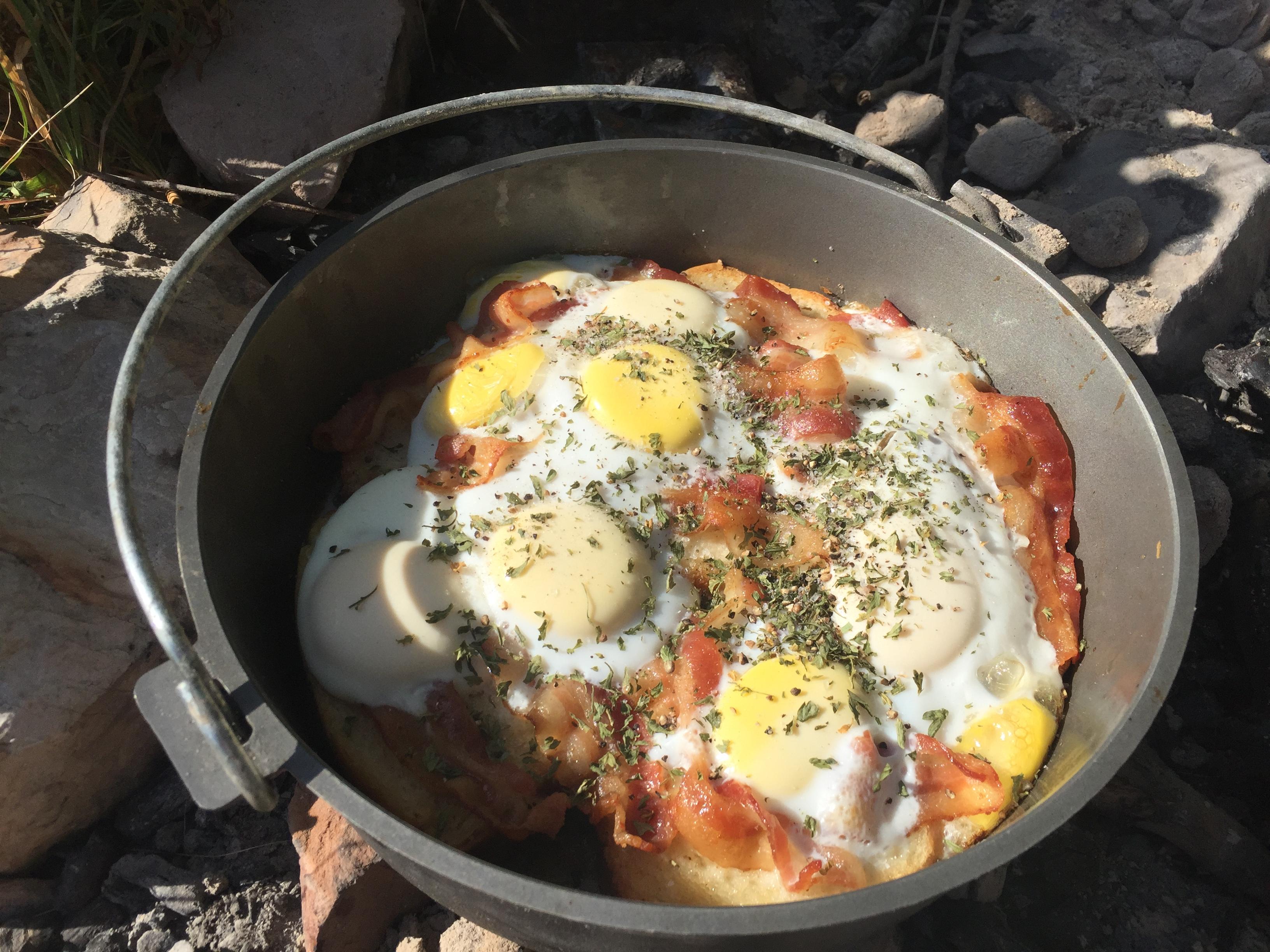 Dutch Oven Recipe Eggs Benedict Dutch Oven Bible